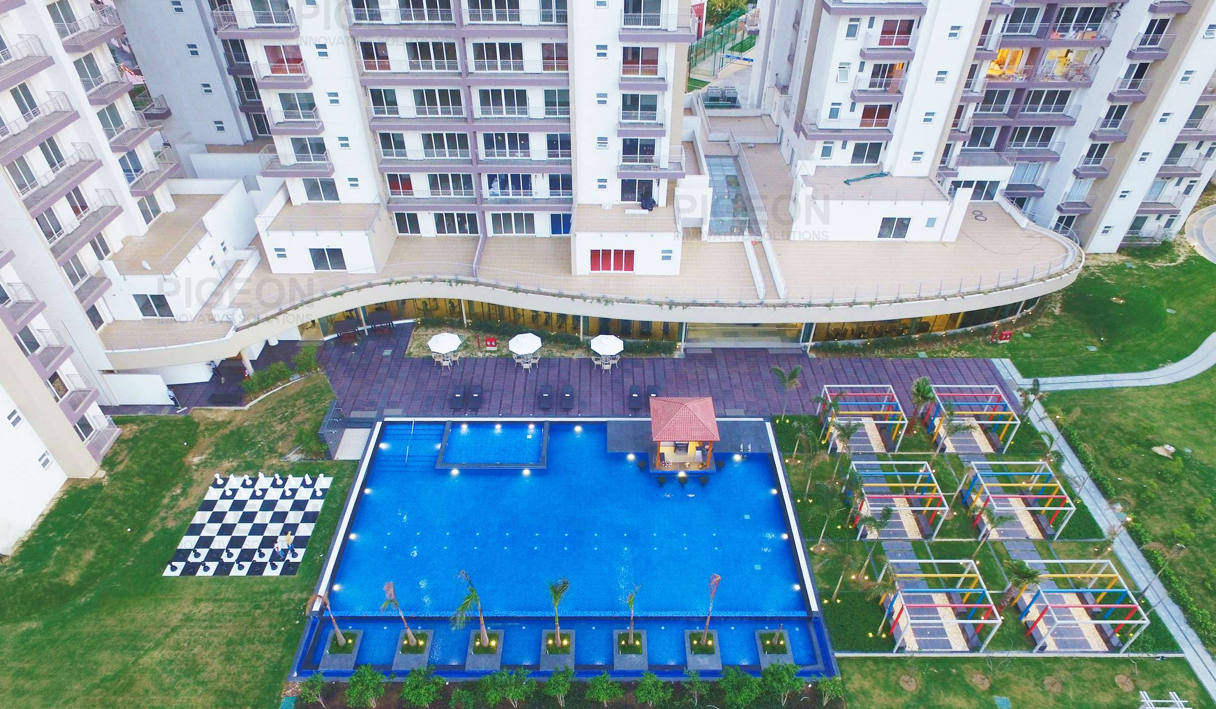 real estate aerial photography company in india - Pigeon