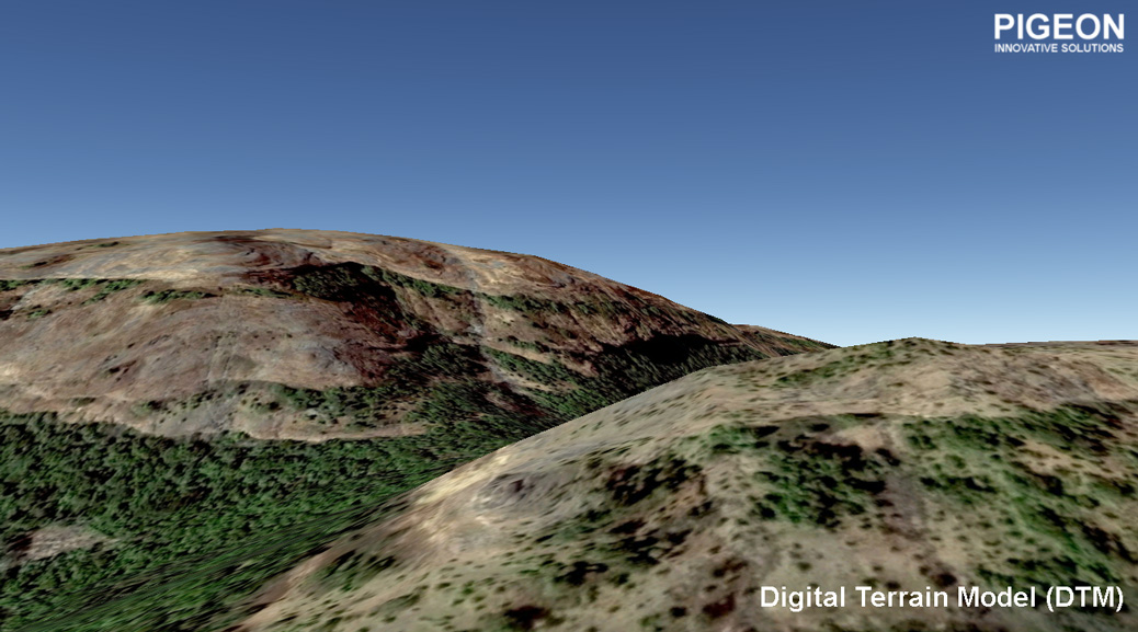 digital terrain model dtm